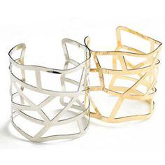 Cuff Bracelet in Silver or Gold