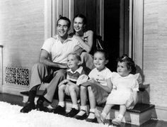 Ricardo Montalban and wife Georgiana (nee, Young, sister of Loretta Young). Married 63 years until his death in 2009!