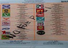 #NoEraPenal, presente en boletas electorales