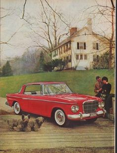 "1962 STUDEBAKER vintage print advertisement ""Yes, it's Beautiful"" ~ The Lark by Studebaker, featuring Daytona Hardtop ... Yes, it's Beautiful ... but how much does it cost? ~"