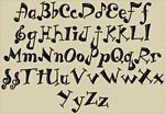 Alphabet Fonts | ... font and amazing machine embroidery fonts at everyday low prices