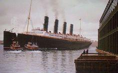 Cunard Line's RMS Lusitania.