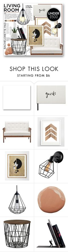 """""""come on by."""" by mercimasada ❤ liked on Polyvore featuring interior, interiors, interior design, home, home decor, interior decorating, St. John, Kate Spade, Baxton Studio and Room Essentials"""