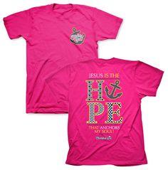 Cherished Hope Shirt, Pink, Large - Christianbook.com