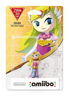 Amiibo The Wind Waker Zelda - Zelda 30th Anniversary