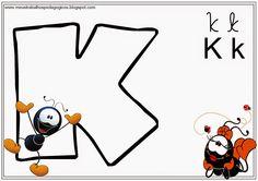 Nosso Espaço Educando: Alfabeto colorido de Parede (Smilinguido)