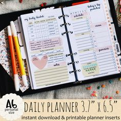 Islamic DAILY Planner by Kecilmamil A6 SIZE on Etsy