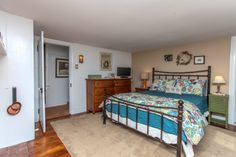 Master Bedroom of Broomall, PA farmhouse for Sale.