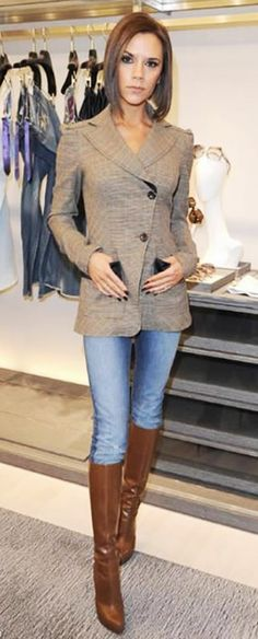 Victoria Beckham Fall Style