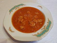 Paradicsomos káposzta sertéshússal Thai Red Curry, Ethnic Recipes, Food, Essen, Meals, Yemek, Eten