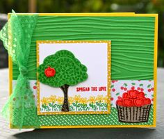 Krystal's Cards: Stampin' Up! Sprinkles of Life Cucumber Watermelon #stampinup #krystals_cards #sprinklesoflife #handstamped #cardmaking #papercrafts #stampsomething #sendacard #cherryontopDSP