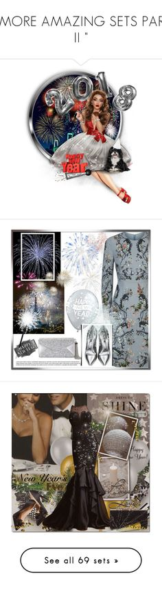 """"""" MORE AMAZING SETS PART II """" by catyravenwood ❤ liked on Polyvore featuring art, BCBGMAXAZRIA, Casadei, Levi's, Zuhair Murad, Jimmy Choo, lastchance, NewYearsEve, Kenneth Cole and Oleg Cassini"""