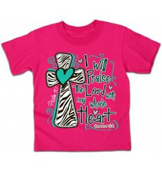 Cherished Girl Praise the Lord T-Shirt | Kidz Cherished Girl T-Shirt