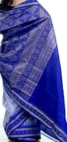 Indian Saree design: Sambalpuri saree from Odisha