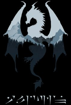 The Elder Scrolls V: #Skyrim's Alduin t-shirt.