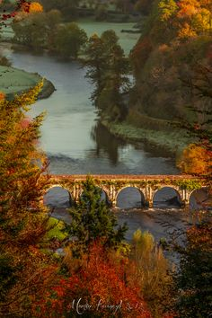 Autumn in beautiful Ireland ... Inistioge Bridge, County Kilkenny, Ireland -- photo: Martin Kavanagh via 500px