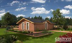 Rodinný dům Bungalow 13 - typový projekt G SERVIS