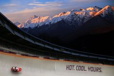 The best photos from the rinks, slopes and slides of Sochi on Wednesday, Feb. 12 at the Winter Olympics. Cool Pictures, Cool Photos, Science Images, Bobsleigh, Luge, Winter Games, The Weather Channel, Winter Olympics, Olympic Games