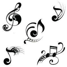 Musical Notes Tattoo