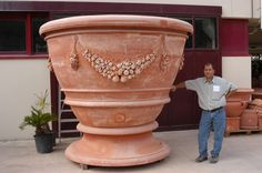 Italian Pottery, Terracotta Pots, Planter Pots, Container, Passion, Landscape, Flowers, Beautiful, Luxury