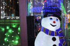 Caption This: Snowman at Osborne Family Spectacle of Dancing Lights