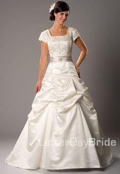 Modest Wedding Dress, Cosima | LatterDayBride & Prom