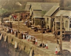BTS S3 . Dock set  ready to go!  #Outlander #outlander_starz #voyager  Source Twitter