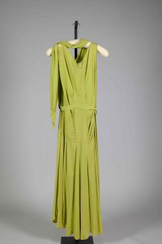 Evening dress -silk Lanvin c.1930