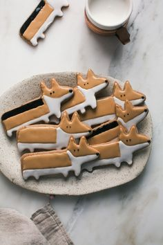 Corgi Chai Cookies - So these cookies are adorably cute, but the recipe is freaking amazing! The gingerbread is chewy with subtle spice flavors. I can't wait to use this recipe again.