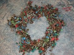 Annie Sloan | Inspiration | Painted wreath