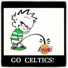 #Celtics, this is hillarious because I live in CA now and hate the lakers! GO CELTS!