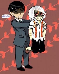 Amon and Juuzou - Tokyo Ghoul