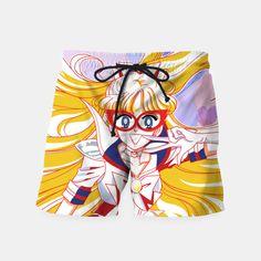Sailor Moon Code Name V Swim Shorts