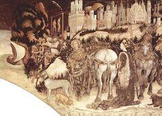 File:Pisanello - St. George Liberating the Princess of Trebizond - Pellegrini-Chapel in Saint Anastasia, Verona.jpg