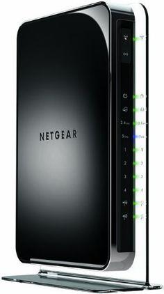 NETGEAR Wireless Router - N900 Dual Band Gigabit (WNDR4500)