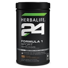The new Formula 1 Sport Chocolate shake is the newest meal replacement option of the Herbalife24 line. Specifically formulated for athlete's daily dietary needs, Formula 1 Sport establishes a solid nutritional foundation for performance with a balance of carbohydrate, protein, vitamins and minerals, while making it easy for anyone to consume any time of the day.