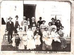 Guaratuba, 1913 - Família Mafra. Xerox da foto original pertencente a Roberto Taborda Mafra [Betinho] - Família Mafra