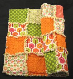 Rag QuiltRiley Blake Summer Song Made to Order by onasmallscale, $70.00