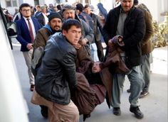 It is a sad day for people in Afghanistan after a heartless suicide bomber detonated a bomb kill...