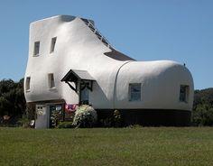 Haines Shoe House Design in Pennsylvania