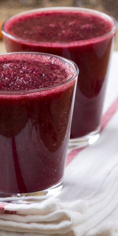 Beets wear red every day! Try on our Red Velvet Cake smoothie recipe.   From our 1º of Change Cookbook >>
