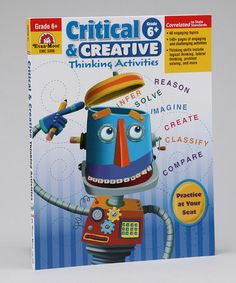 Loving this Grade 6 Critical & Creative Thinking Activities Workbook on #zulily! #zulilyfinds