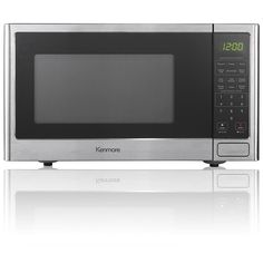 Kenmore 0.9 cu. ft. Countertop Microwave Oven - Stainless Steel -- This is an Amazon Affiliate link. Visit the image link more details.