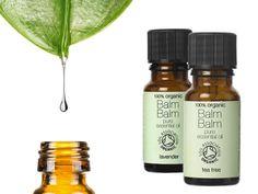 Esenciální oleje Balm Balm Bergamot, Tea Tree, Grapefruit, The Balm, Shampoo, Lavender, Organic, Personal Care, Bottle