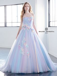 Thankful simulated ball gown quinceanera dresses Ask The Pros Cute Prom Dresses, Ball Dresses, Pretty Dresses, Bridal Dresses, Wedding Gowns, Ball Gowns, Pastel Prom Dress, Rainbow Wedding Dress, Quince Dresses