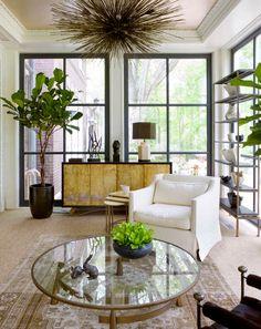 I want that light fixture  Interior by Kara Mann