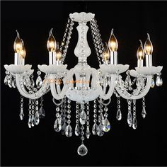 92.17$  Buy now - http://alinpl.worldwells.pw/go.php?t=32724531097 - Led Crystal chandelier home lighting luminaire lustres de cristal Modern kitchen Dining room Living room chandeliers candelabro 92.17$
