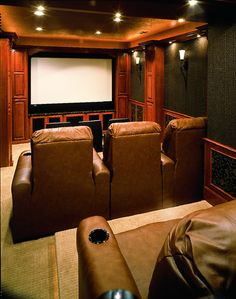 Small Home Theater Room   Doing This But Just A Tad More Elaborately Part 75