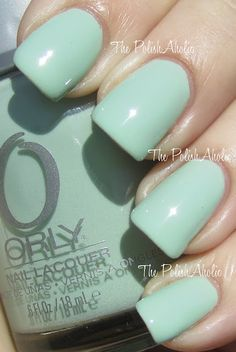 Jealous Much? for quirky a soft & quirky daytime mani. #ORLYCoolRomance #ORLYNails