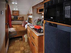 RV Rental Denver Rpod 177 Interior